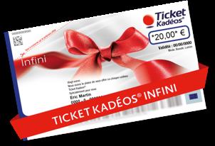Ticket Kadéos® Infini