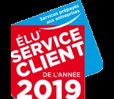 Service client de l'année