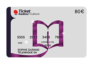Carte Ticket Kadéos® Culture