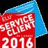 Service client de l'année'