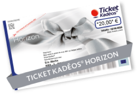 Ticket Kadéos® Horizon+