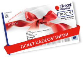 Ticket Kadéos® Infini DOM
