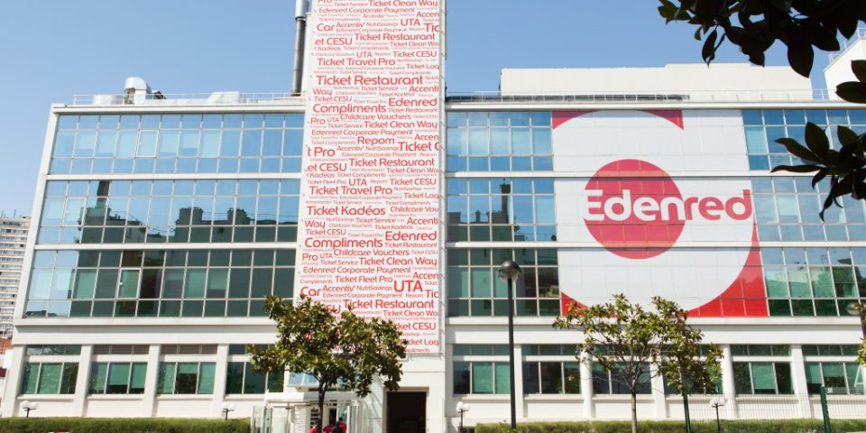 photo bâtiment Edenred