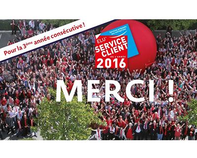 logo élection service client 2016