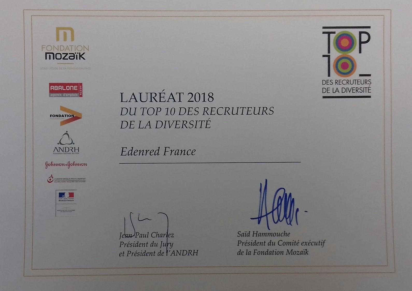 Prix Mozaik