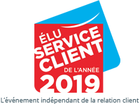 logo élu service client 2019
