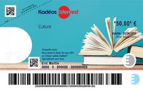 Cheque Kadeos Culture Edenred
