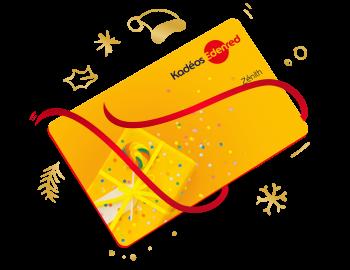Joyeux Kadéos - carte Kadéos Zénith - Noël 2021